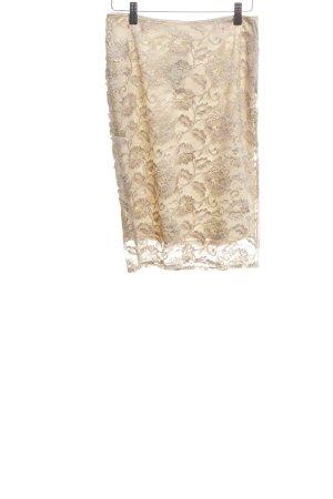 Sisley Bleistiftrock creme Elegant