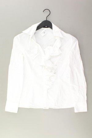 Sisley Bluse Größe M weiß aus Baumwolle