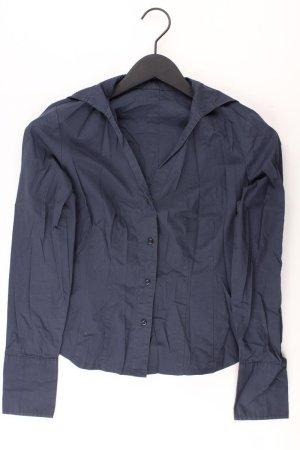 Sisley Bluse Größe S blau aus Baumwolle