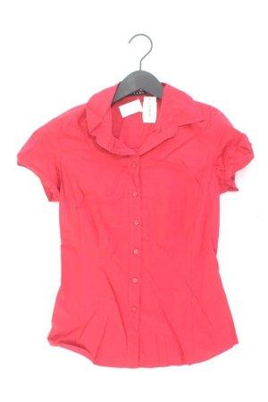 Sisley Bluse Größe XS rot aus Baumwolle