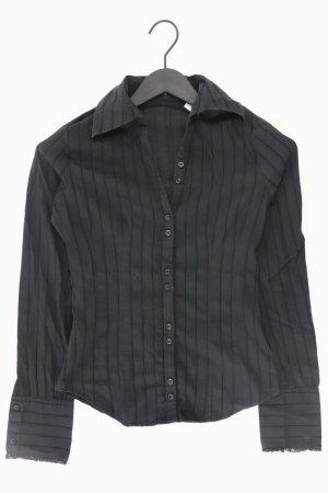 Sisley Bluse schwarz Größe XS
