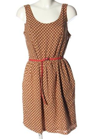 Sisley Blusenkleid Allover-Druck Casual-Look