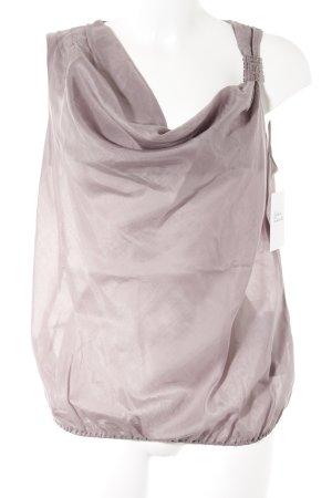 Sisley Blouse topje grijs-lila casual uitstraling