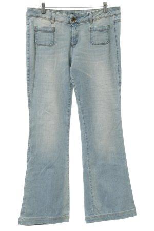 Sisley Boot Cut Jeans Farbverlauf Casual-Look