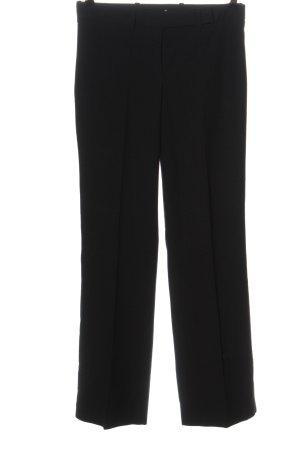 Sisley Pantalone a pieghe nero stile professionale