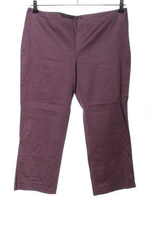 Sisley Pantalone Capri lilla stile casual