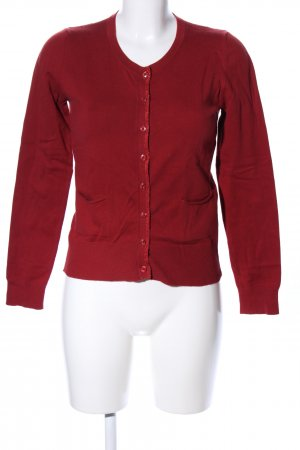Sisley Cardigan rot Casual-Look