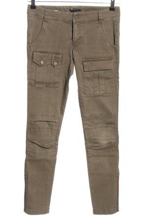 Sisley Pantalone cargo marrone stile casual