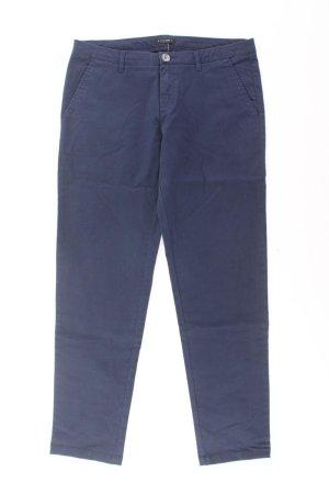 Sisley Pantalone chino blu-blu neon-blu scuro-azzurro Cotone