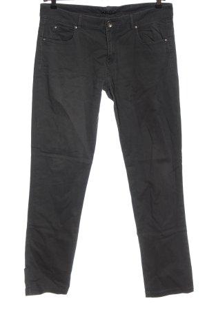 Sisley Pantalón de cinco bolsillos negro look casual
