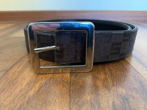 Sisley Cinturón de cadera rojo amarronado