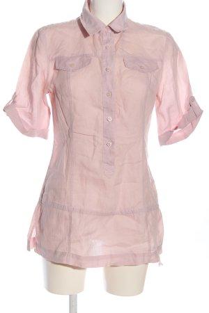 Sisley Hemd-Bluse pink Business-Look