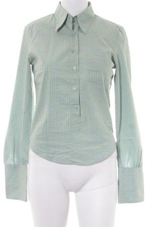 Sisley Hemd-Bluse mint Streifenmuster Casual-Look