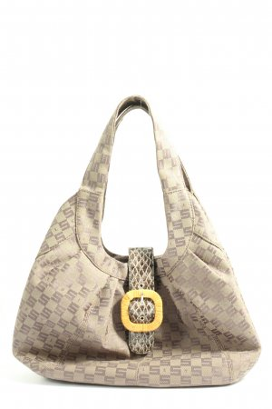 Sisley Carry Bag natural white-brown allover print casual look