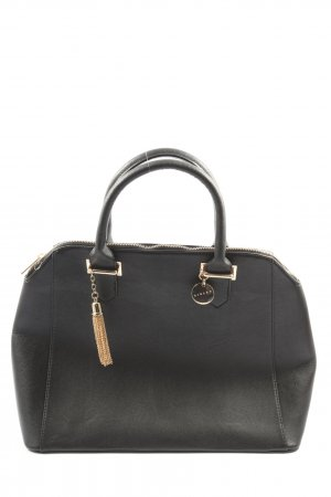 Sisley Henkeltasche schwarz Business-Look