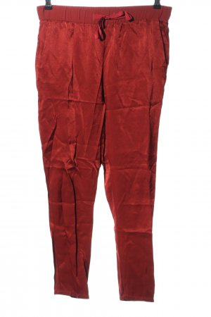 Sisley High-Waist Hose rot Casual-Look