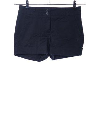 Sisley High-Waist-Shorts schwarz Casual-Look