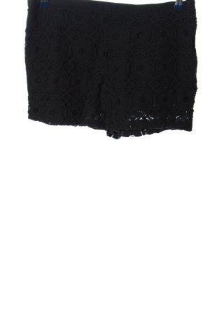 Sisley Hot Pants schwarz Casual-Look