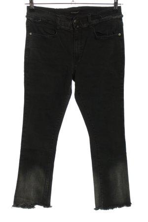 Sisley Hüftjeans schwarz Casual-Look