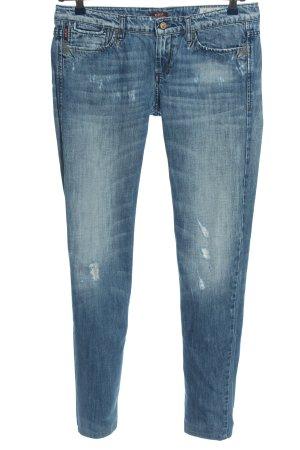 Sisley Hüftjeans blau Casual-Look