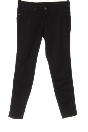 Sisley Jeansy biodrówki czarny W stylu casual