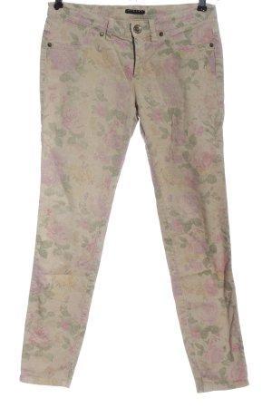 Sisley Jeans vita bassa stampa integrale stile casual