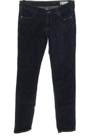 Sisley Jeans taille basse bleu style décontracté
