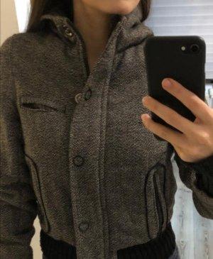 Sisley Giacca con cappuccio nero