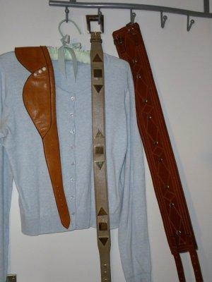 Sisley Jacke+ Pulli Twin Set 100% Baumwolle//extra drei ECHtledergürtel (Fotos/Preise unter meinen weiteren Angeboten)