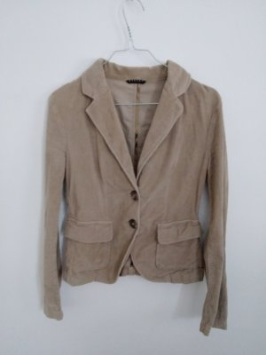 Sisley Veste en jean brun sable-marron clair