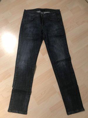 Sisley Jeans slim fit blu scuro