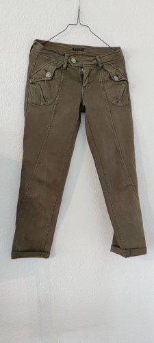 Sisley Pantalone a 7/8 marrone