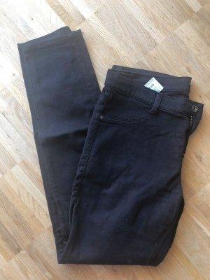 Sisley Jeans W30 40 L neu dunkelbraun Skinny