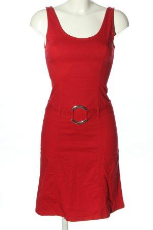 Sisley Jeanskleid rot Casual-Look