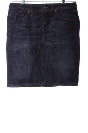 Sisley Jeansrock blau Casual-Look