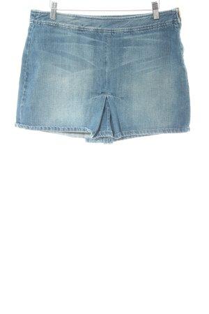 Sisley Jeansrock blau Jeans-Optik