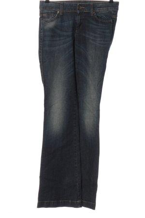 Sisley Jeansschlaghose blau Casual-Look