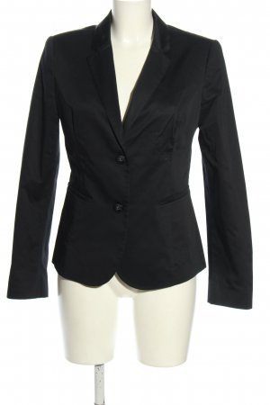 Sisley Jerseyblazer schwarz Business-Look