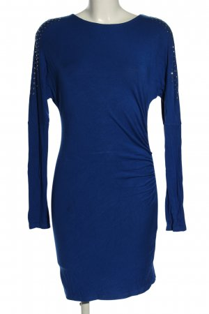Sisley Jerseykleid blau Business-Look