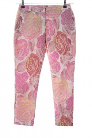Sisley Peg Top Trousers allover print casual look