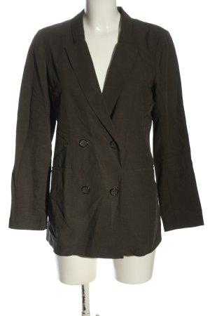Sisley Klassischer Blazer khaki zakelijke stijl
