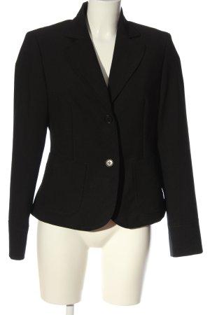Sisley Klassischer Blazer negro estilo «business»