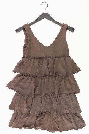 Sisley Kleid Größe S braun