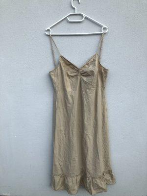 Sisley Kleid M beige