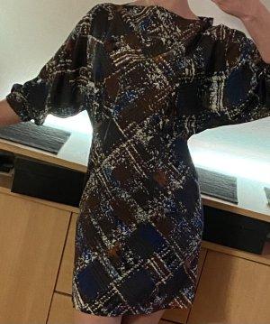Sisley Kleid Mini mit Puffärmeln
