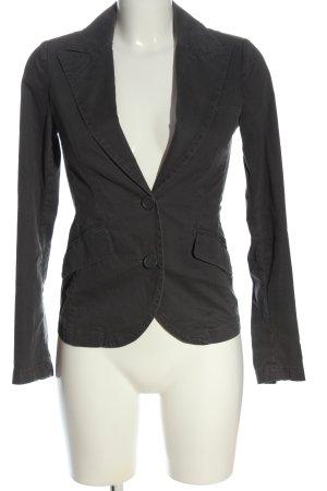 Sisley Kurz-Blazer schwarz Casual-Look