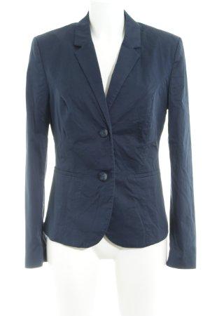 Sisley Kurz-Blazer dunkelblau Business-Look