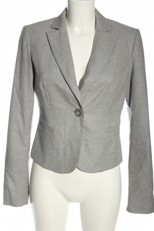 Sisley Kurz-Blazer hellgrau Business-Look