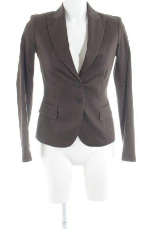 Sisley Kurz-Blazer graubraun Business-Look