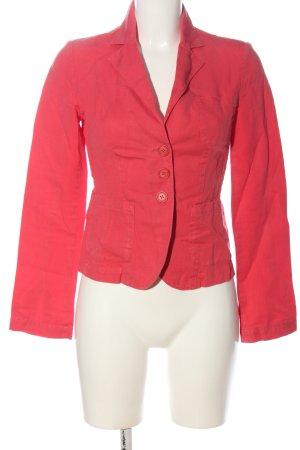 Sisley Blazer corto rosso stile casual